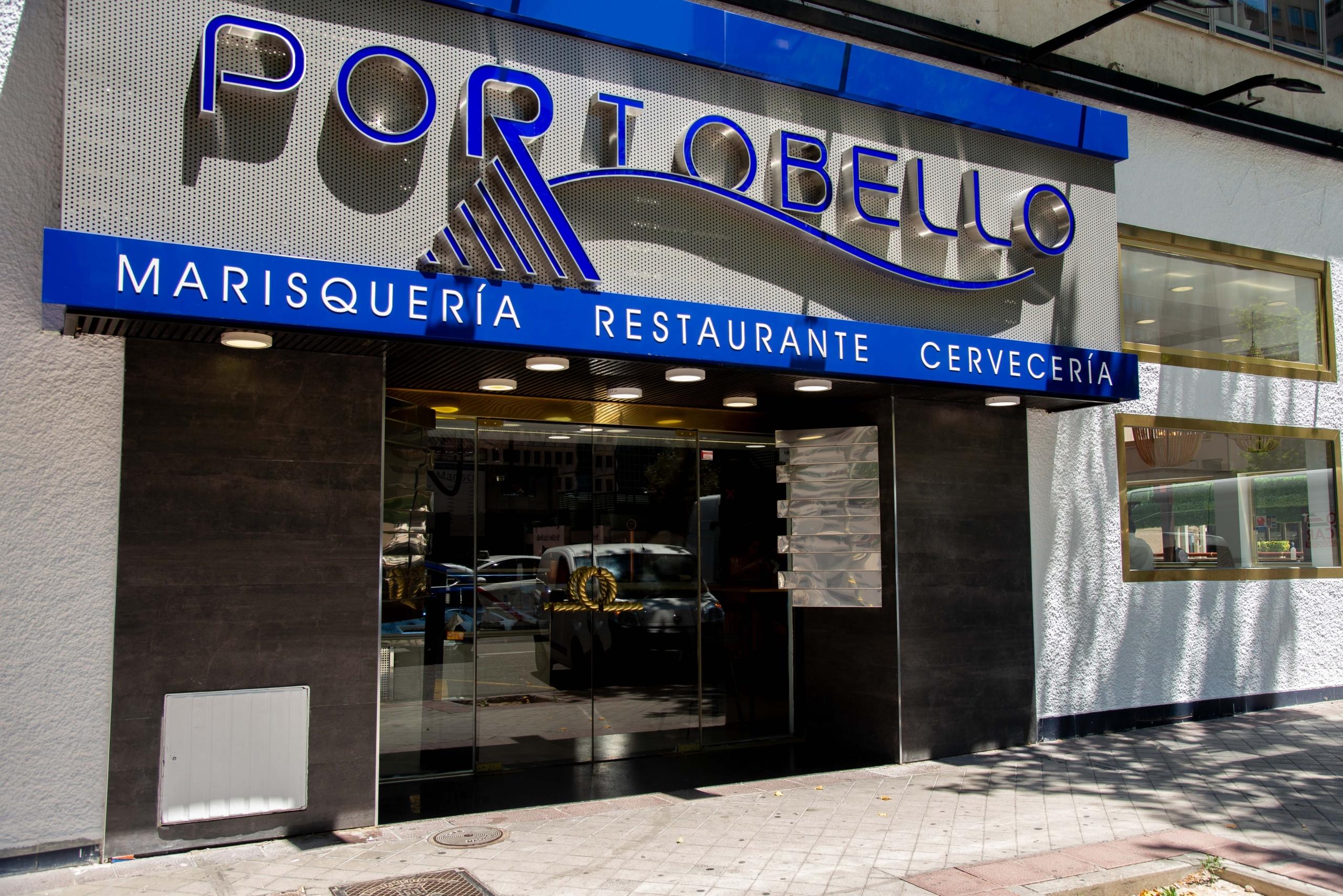 portobello marisqueria Marisqueria Restaurante Cerveceria C/Rosario Pino, 18, 28020 Madrid - T. 910 186 912