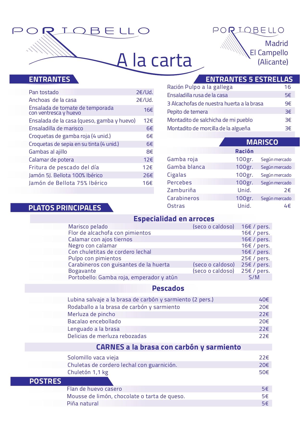 Marisqueria Restaurante Cerveceria C/Rosario Pino, 18, 28020 Madrid - T. 910 186 912 Pescados al horno y Carnes a la brasa con carbón ecológico y vegetal.